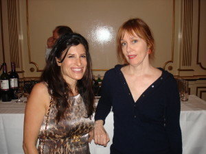 Lynn Julian, Boston Actress and musician, with musician, Susan Vega