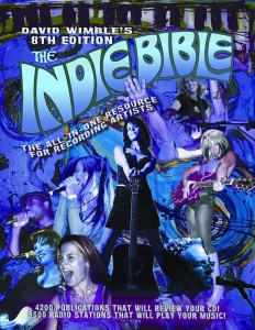 LYNN JULIAN as CCG POP SUPERHERO on COVER of the INDIE BIBLE.