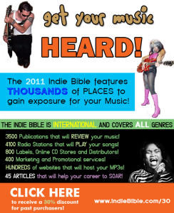 LYNN JULIAN as CCG POP SUPERHERO in MAGAZINE AD for the INDIE BIBLE.