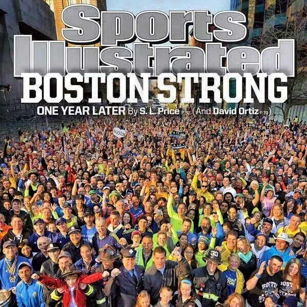 LYNN JULIAN, Boston Actress, and injured Boston Marathon attack survivor, on COVER of SPORTS ILLUSTRATED magazine.