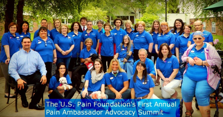 Lynn Julian, Boston Actress, and injured Boston Marathon attack survivor, volunteers as the Massachusetts Ambassador for the US Pain Foundation.